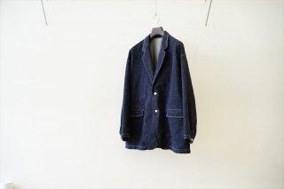 Graphpaper(グラフペーパー)CIOTA for GP Suvin Cotton Denim Jacket/Indigo(GM213-20238)