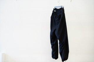 Graphpaper(グラフペーパー)Light Moleskin Oversized Pants/Black(GM213-40087)