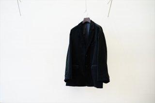 Graphpaper(グラフペーパー)Suvin Corduroy Oversized Jacket(GM213-20071)/Black