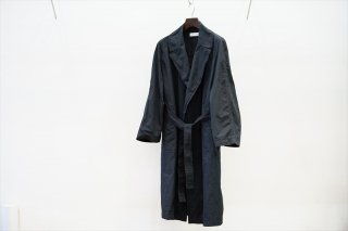 Graphpaper for women's(グラフペーパーウイメンズ)Garment Dyed Gown Coat/Black/Size 0(GU213-10196B)