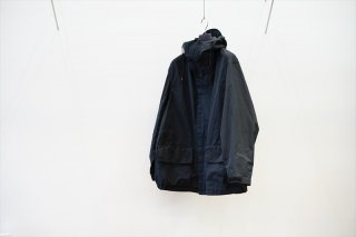 Graphpaper(グラフペーパー)Garment Dyed Foul Weather Jacket/Black(GM213-10196B)
