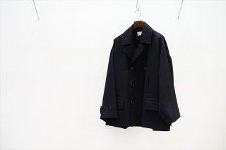 Graphpaper(グラフペーパー)Wool Kersey Pea Coat/Black(GM213-10215)