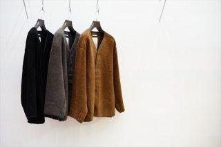 Graphpaper(グラフペーパー)Wool Boa Liner Blouson/Brown/C.Gray/Black/(GM213-70207)