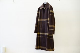 UNUSED(アンユーズド)Soutien Collar Coat(US2058)/Olive×Brown