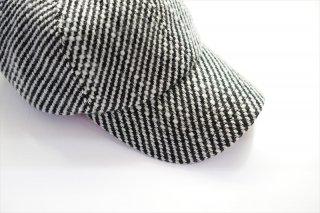 EXCLUSIVE BALUCA別注/KIIT(キート)Wool Kersey 6P Cap/Black Mix