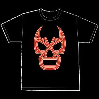 【LUCHA UNDERGROUND】LU LOGO BLACK Tシャツ