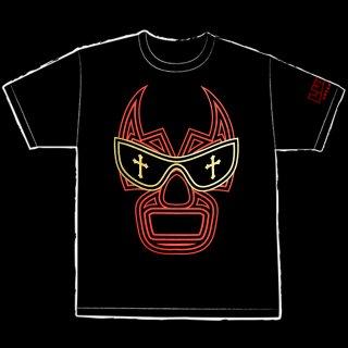【LUCHA UNDERGROUND】JONY MUNDO(ジョニー・ムンド) BLACK Tシャツ