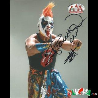 Psycho Clown / サイコ・クラウン サイン入ブロマイド