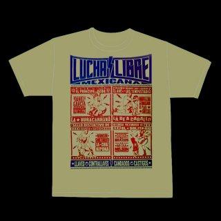 ルチャリブレ・メヒカナ Tシャツ / LUCHA LIBRE MEXICANA T-Shirt