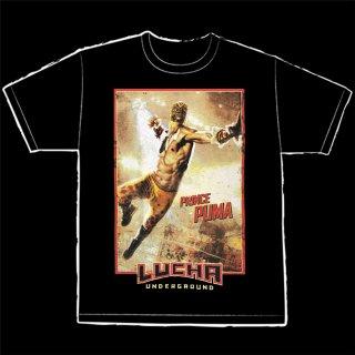 【LUCHA UNDERGROUND】PRINCE PUMA(プリンス・プーマ) BLACK Tシャツ