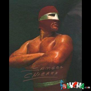 Sangre Chicana Autographed Photo / サングレ・チカナ サイン入ブロマイド