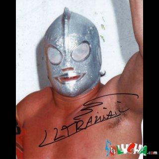 Ultraman Autographed Photo / ウルトラマン サイン入ブロマイド