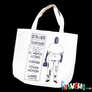 プリントトートバッグ #エル・メディコ・アセシノ / Print Tote bag el Médico Asesino