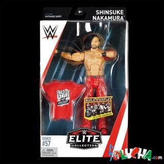 <img class='new_mark_img1' src='https://img.shop-pro.jp/img/new/icons20.gif' style='border:none;display:inline;margin:0px;padding:0px;width:auto;' />SHINSUKE NAKAMURA フィギュア / WWE MATTEL Elite 57