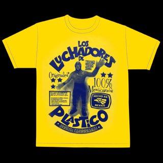Los Luchadores de plastico T-Shirt / ロス・ルチャドーレス・デ・プラスティコ Tシャツ