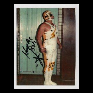 Hombre Bala Autographed Photo#2 / オンブレ・バラ サイン入ブロマイド#2