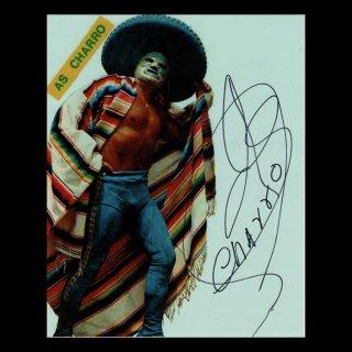 As Charro Autographed Photo#2 / アス・チャロ サイン入ブロマイド#2