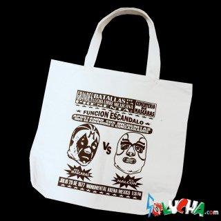プリントトートバッグ #ミル・マスカラスvsエル・アルコン / Print Tote bag