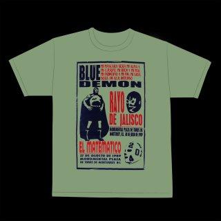 ブルーデモン & ラヨ・デ・ハリスコ & エル・マテマティコ Tシャツ / Blue Demon & Rayo de Jalisco & El Matematico T-Shirt