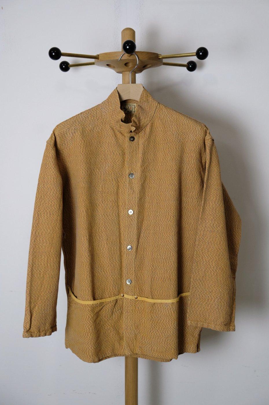 TENDER Co. 17AW-Type 440Folded Pocket Shirt-Yellow Ochre