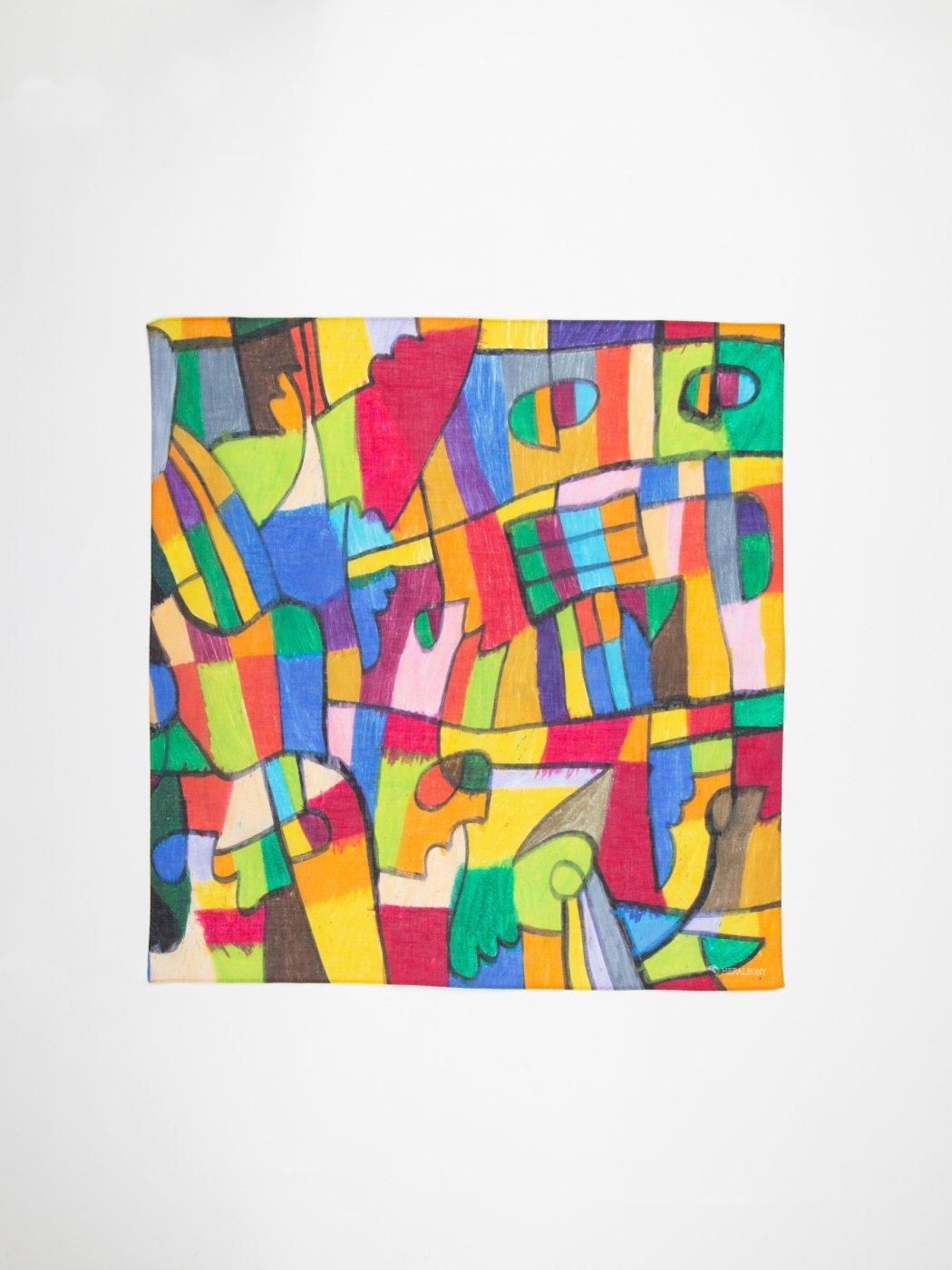 HERALBONY -ART HANDKERCHIEF- Satoru Kobayashi -埴生の宿(Home Sweet Home)-