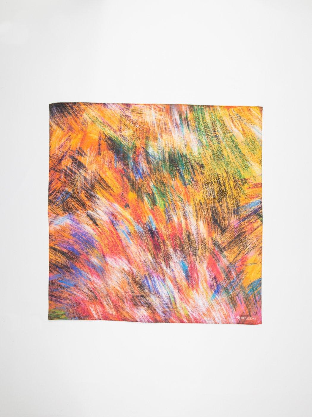 HERALBONY -ART HANDKERCHIEF- Minami Takahashi -風のロンド-Wind Rondo-