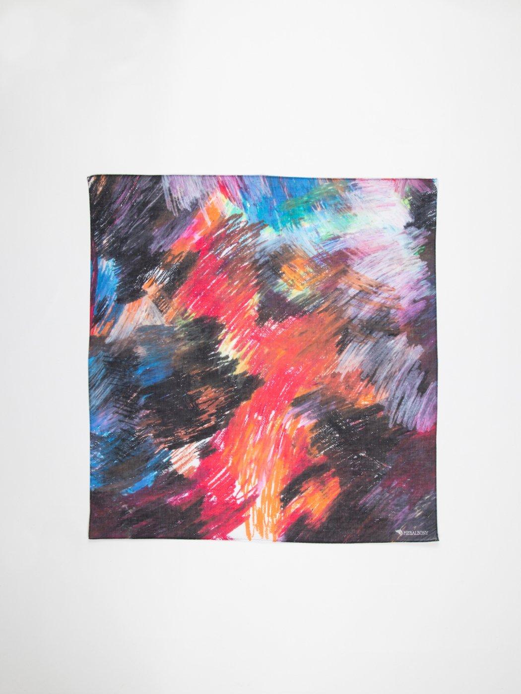 HERALBONY -ART HANDKERCHIEF- Minami Takahashi -NO TITLE-