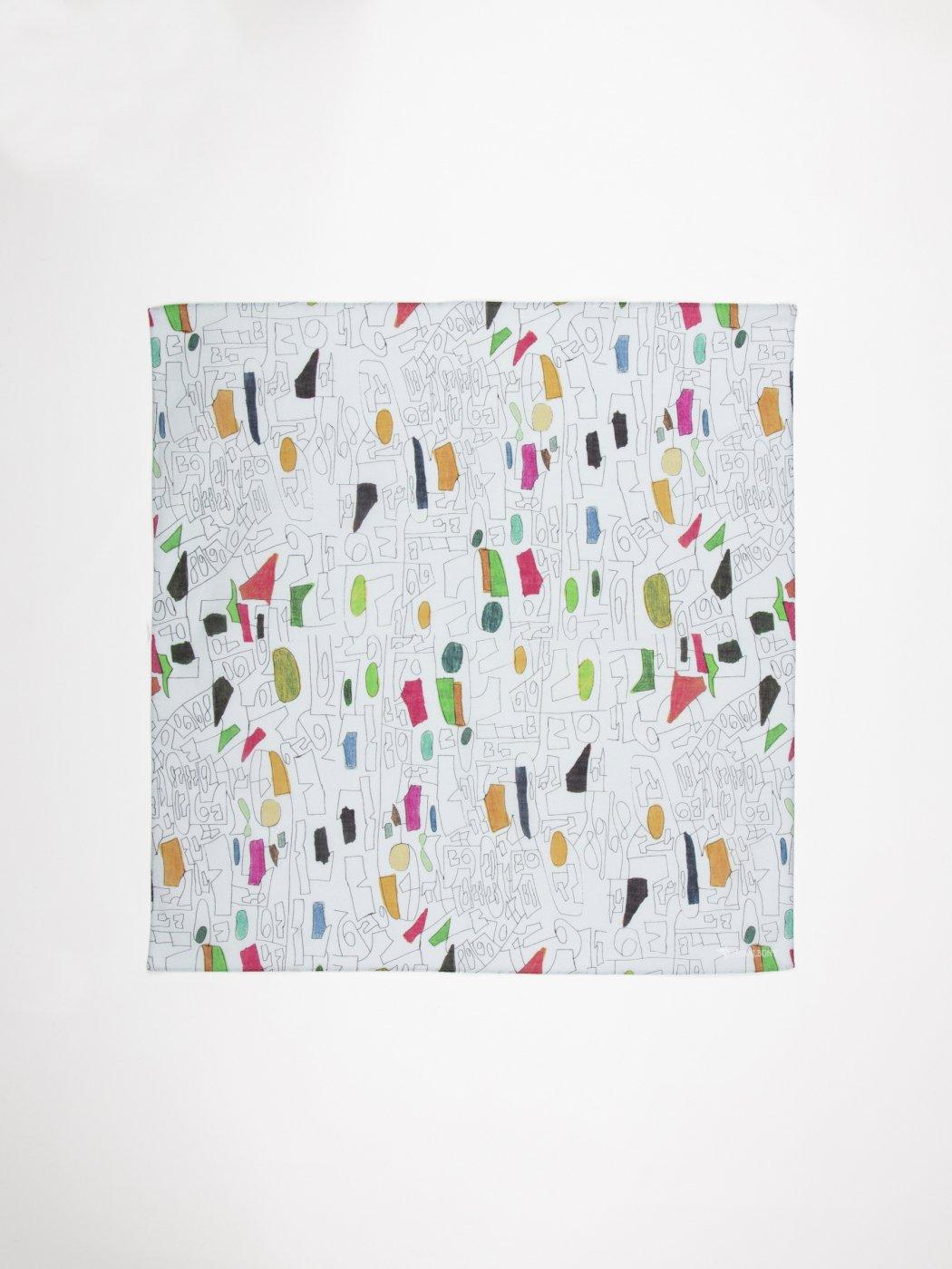 HERALBONY -ART HANDKERCHIEF- Satoru Kobayashi -figure数字(FIGURE)-