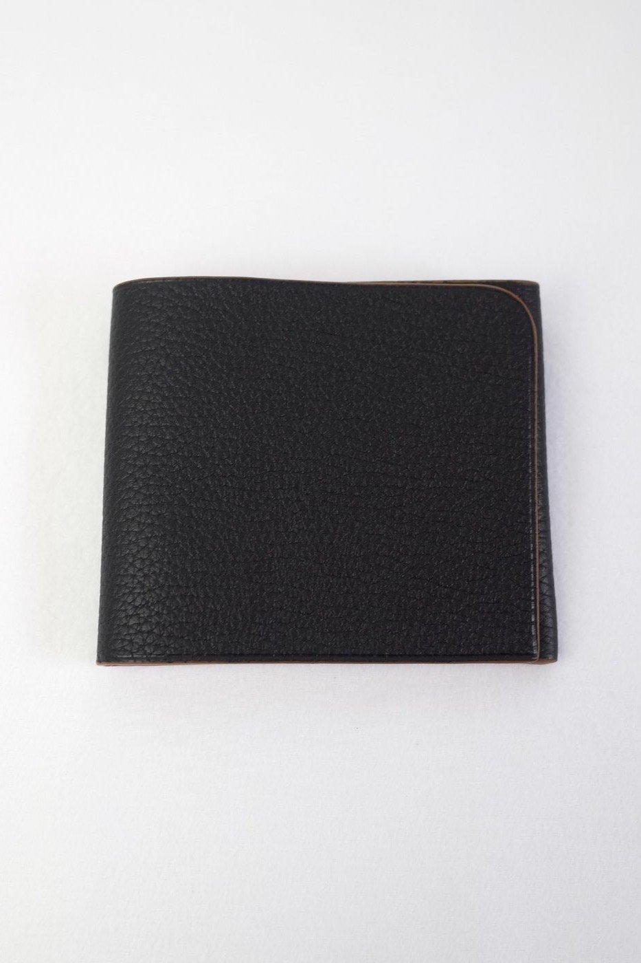il micho -Wallet single Bull×Suede/BLACK-