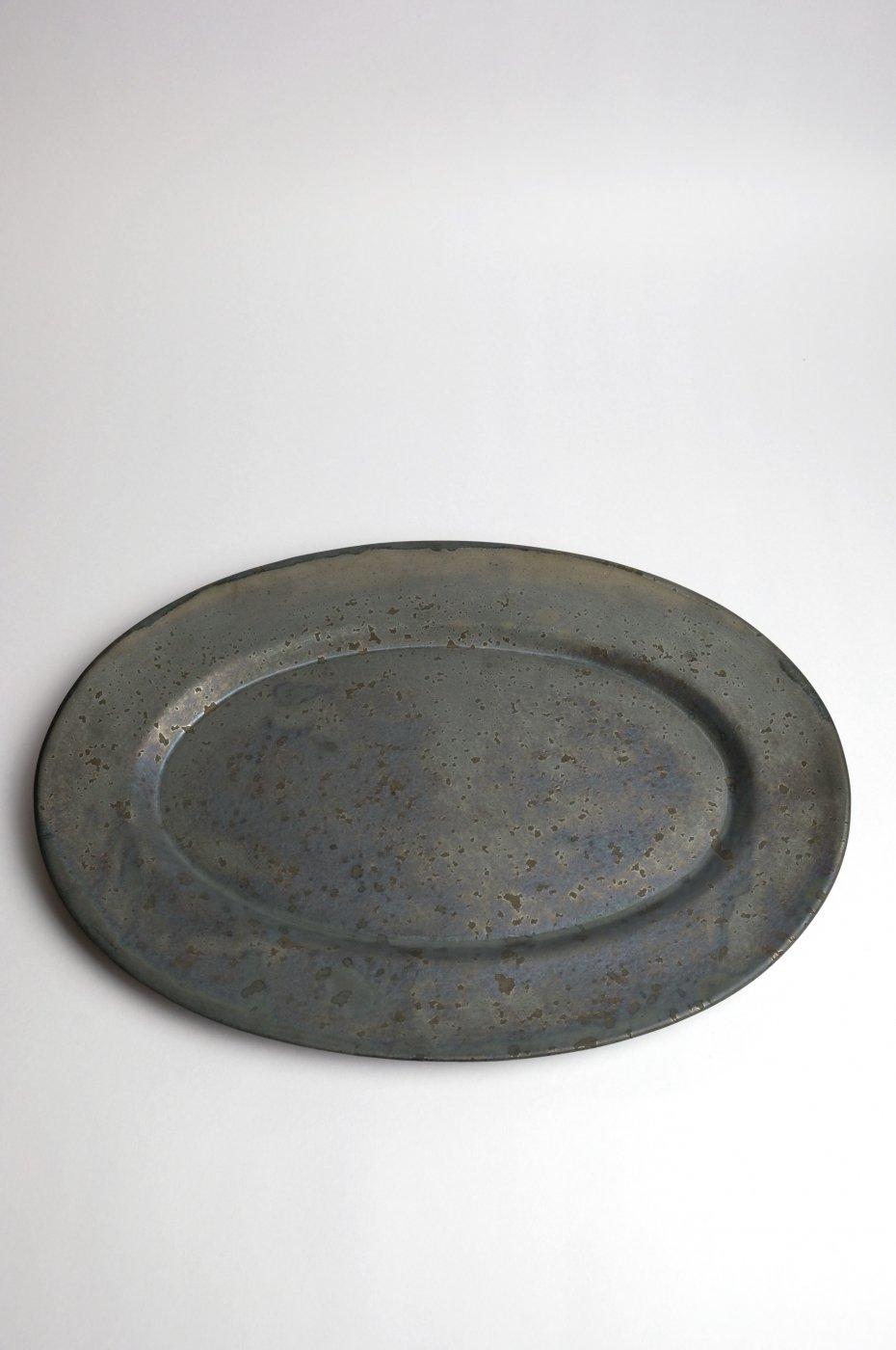 ONE KILN CERAMICS ワンキルン セラミックス -Oval Plate L-
