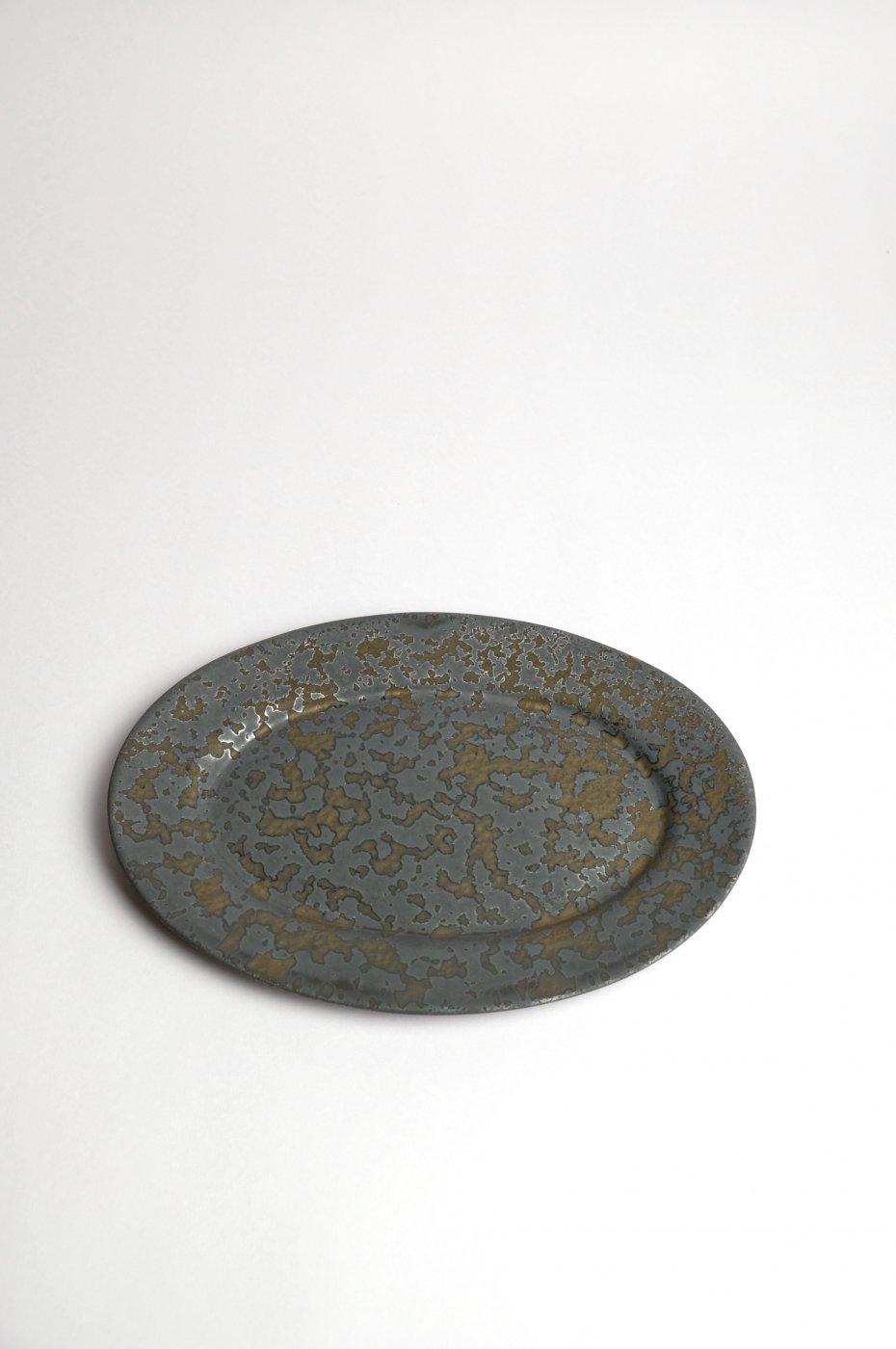 ONE KILN CERAMICS ワンキルン セラミックス -Oval Plate S-