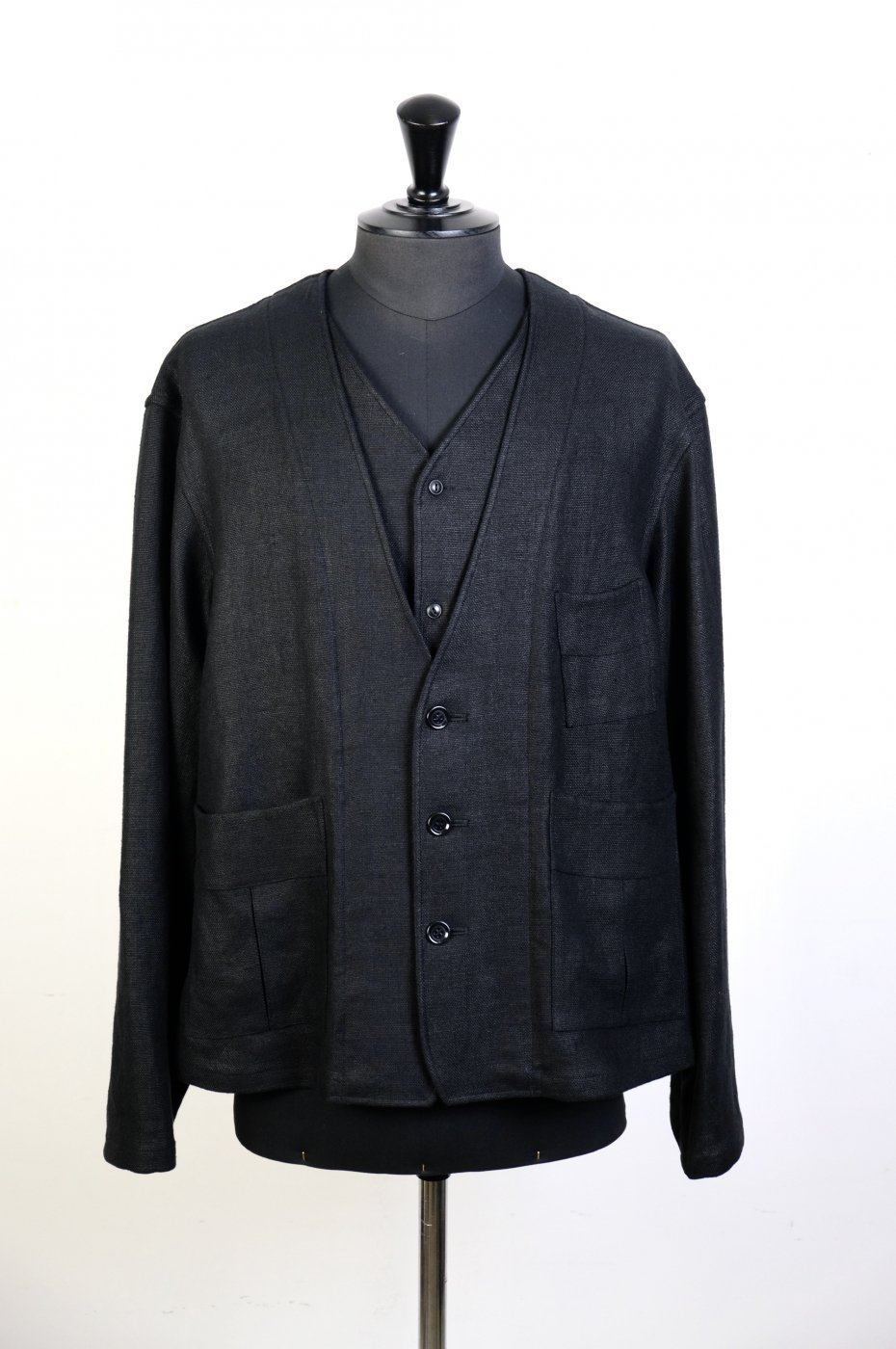 Gorsch the seamster ゴーシュザシームスター -Linen Two Layers Front Jacket-