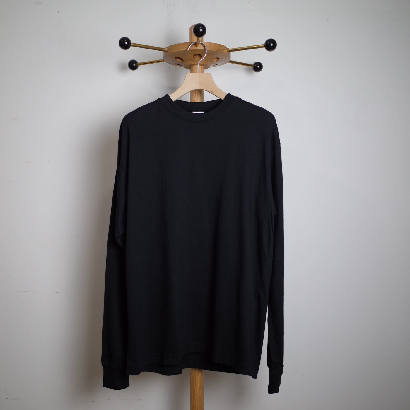 CAMBER キャンバー -FINEST LONG SLEEVE/BLACK-