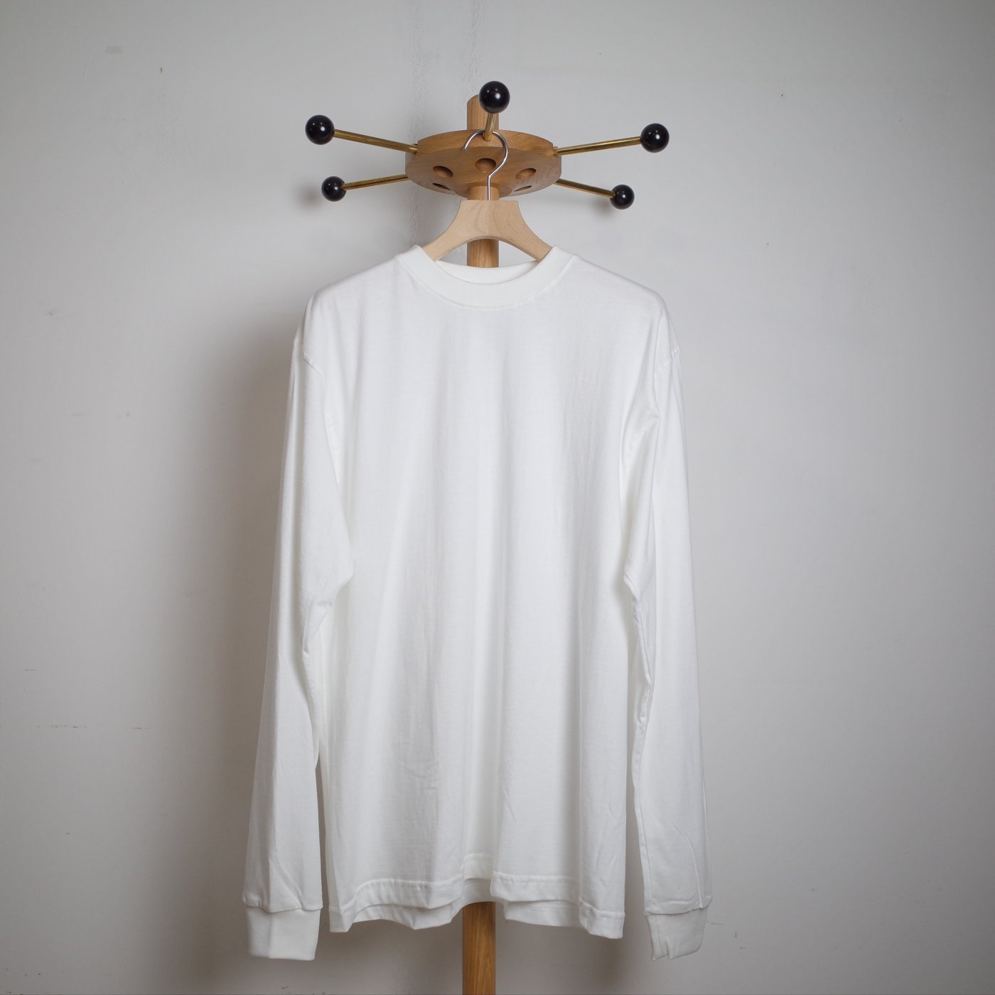 CAMBER キャンバー -FINEST LONG SLEEVE/WHITE-