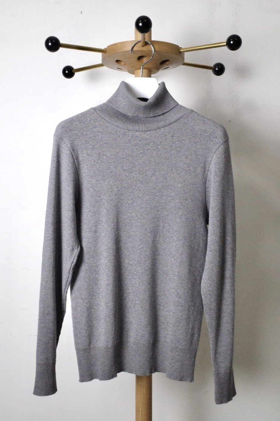 gicipi ジチピ-TURTLENECK TOPS-ANANAS-GRAY-