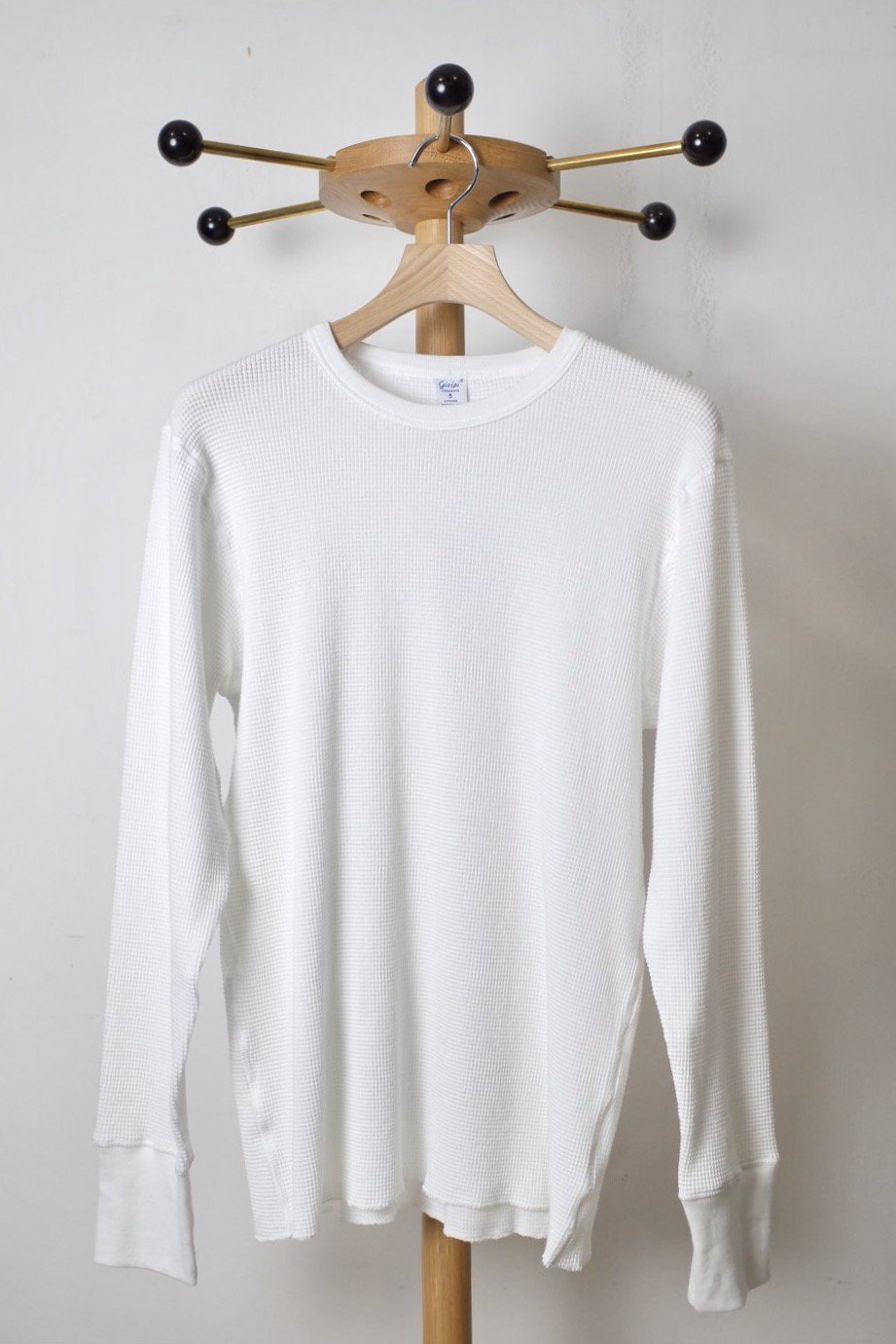 gicipi ジチピ-THERMAL LONG SLEEVE-ORSO-WHITE-