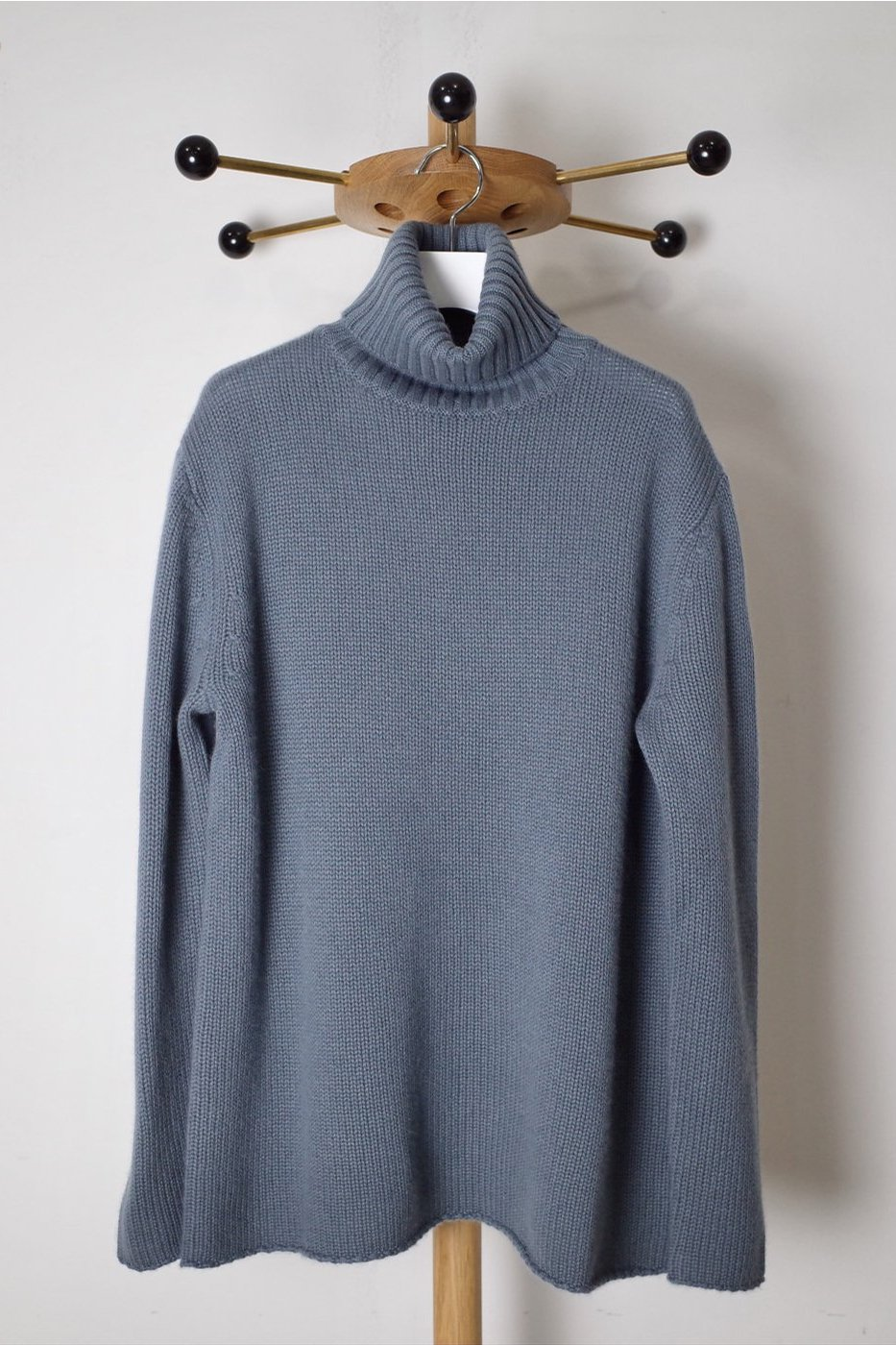 PICEA(ピセア) -BABY CASHMERE HIGH NECK-GREEN-MEN'S/WOMEN'S