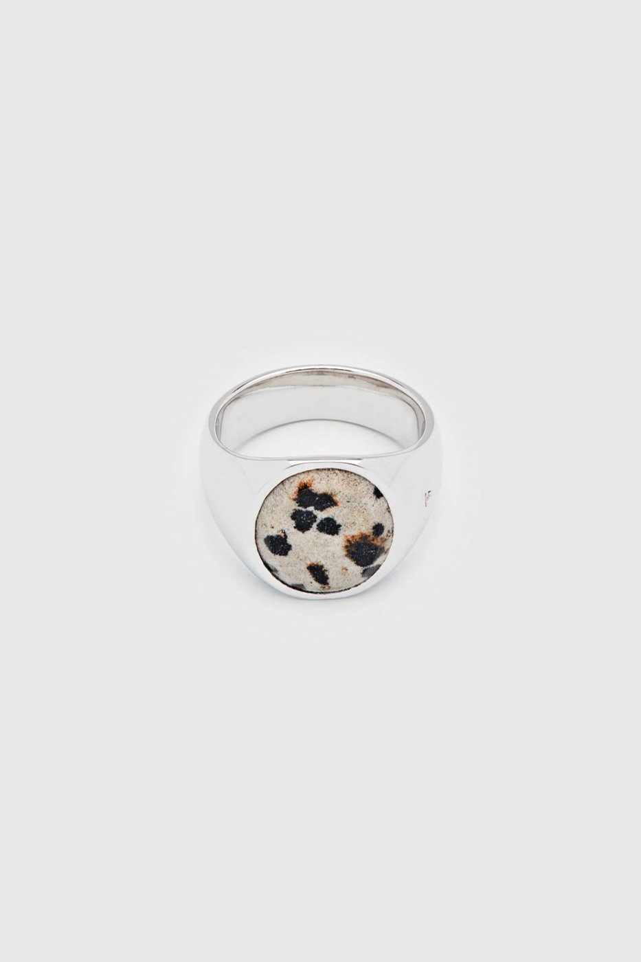 TOM WOOD トムウッド-Oval Leopard Ring-