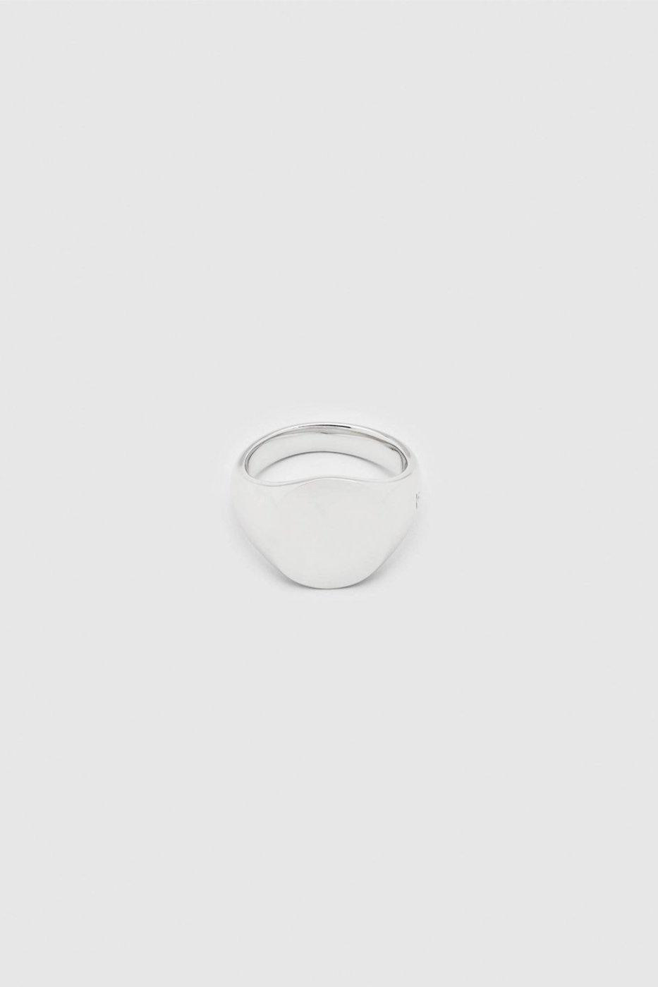 TOM WOOD トムウッド-Mini Signet Oval Ring-