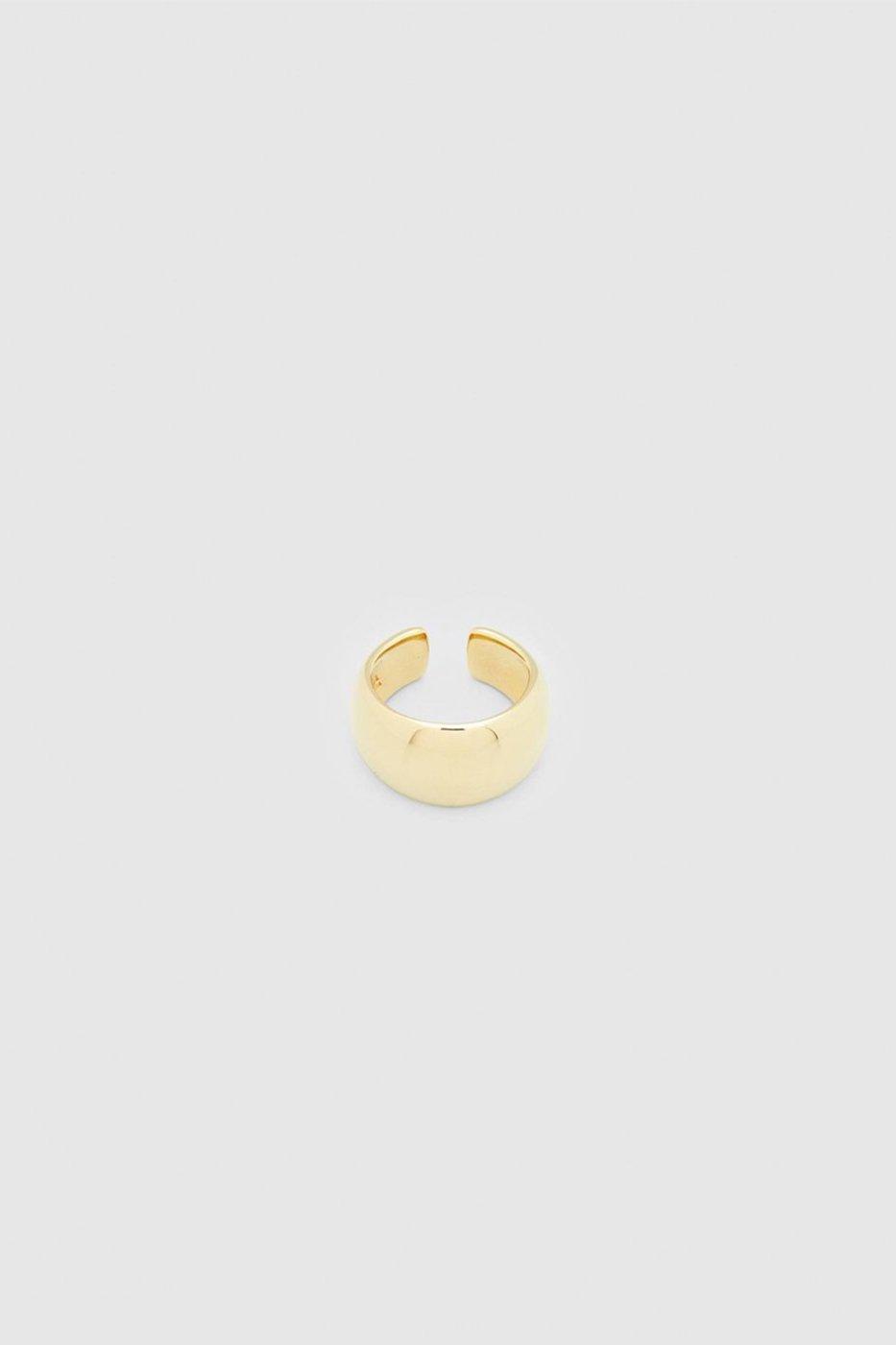 TOM WOOD トムウッド-Chubby Ear Cuff Gold-