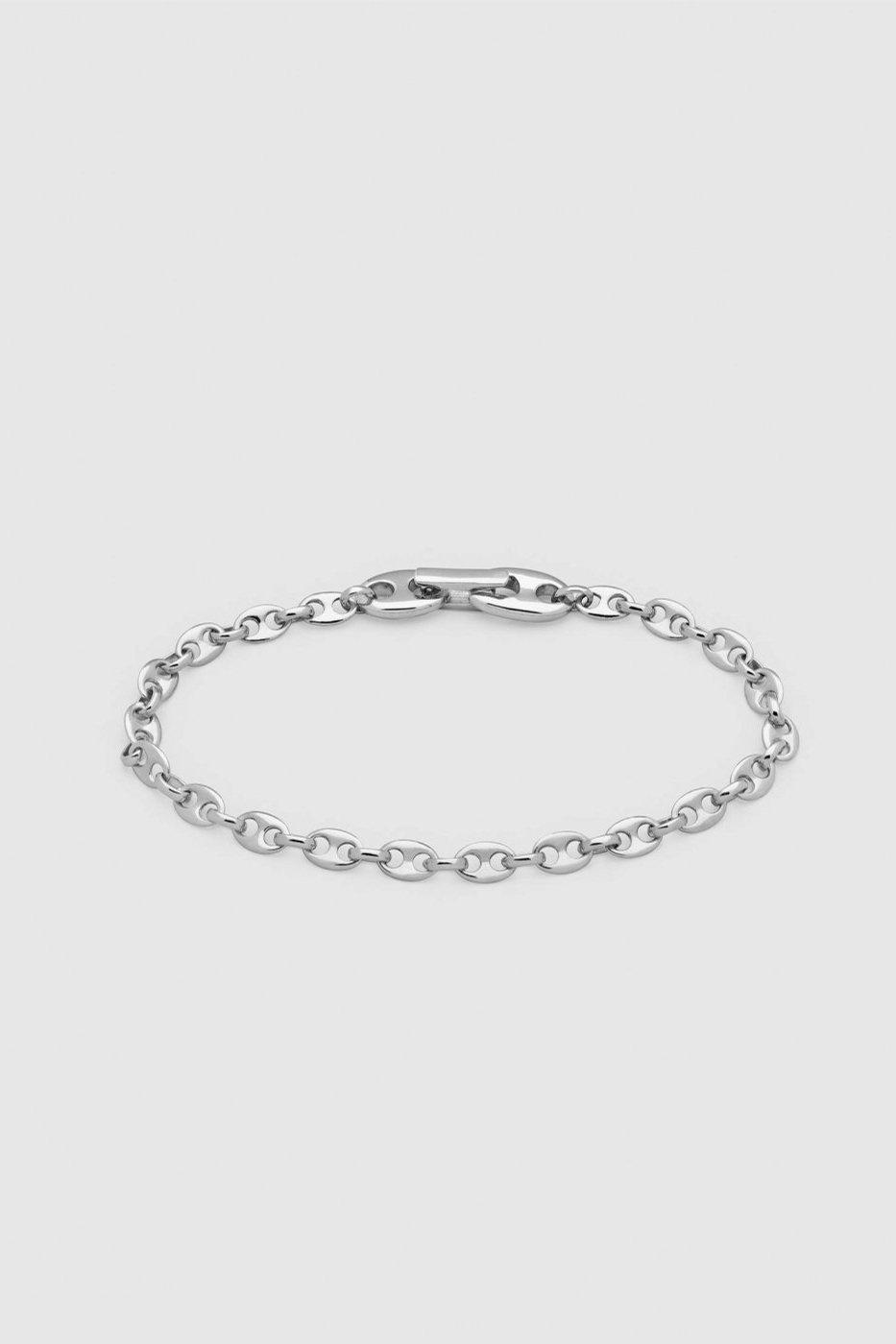 TOM WOOD トムウッド-Bean Bracelet Silver-
