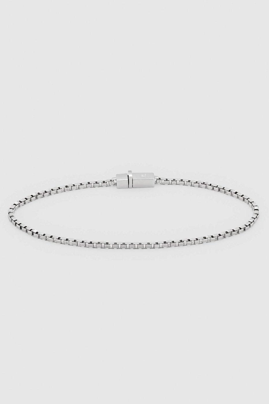 TOM WOOD トムウッド-Square Bracelet Silver-