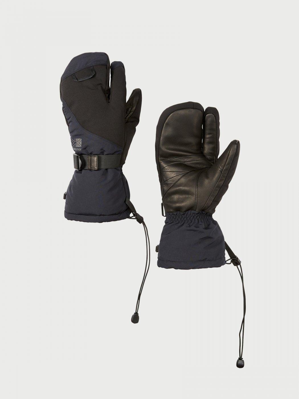 Karrimor-カリマー-separate mitten-BLACK-L