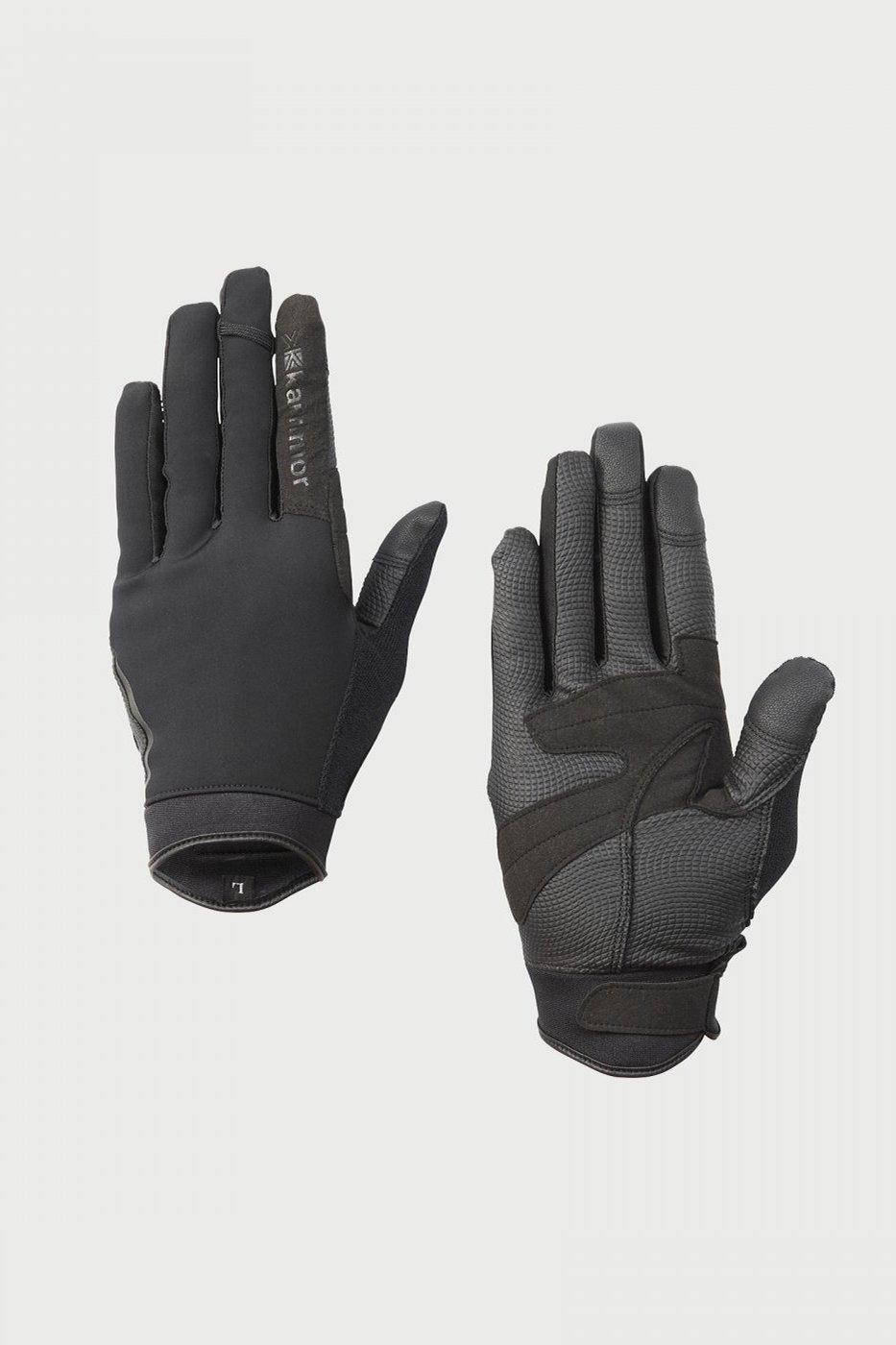 Karrimor-カリマー-technical softshell glove-BLACK-