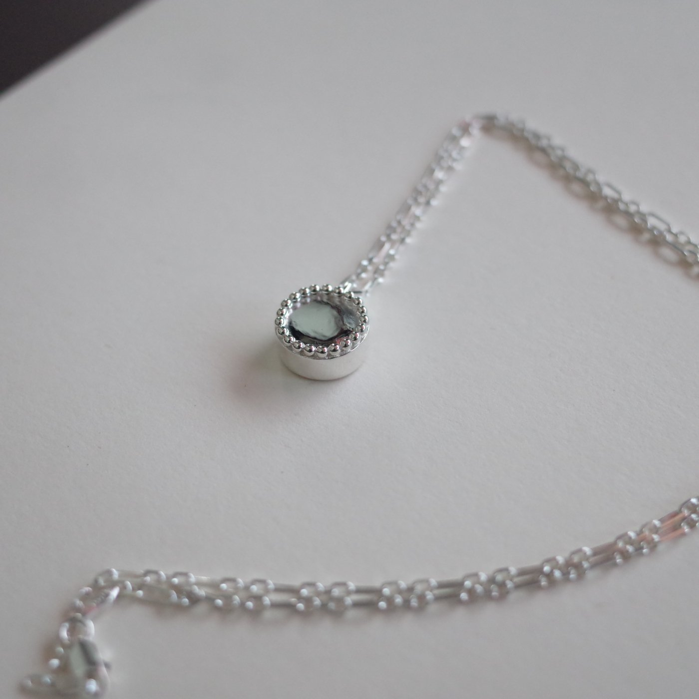 R.ALAGAN ララガン-BALL SIGN NECKLACE-SILVER-