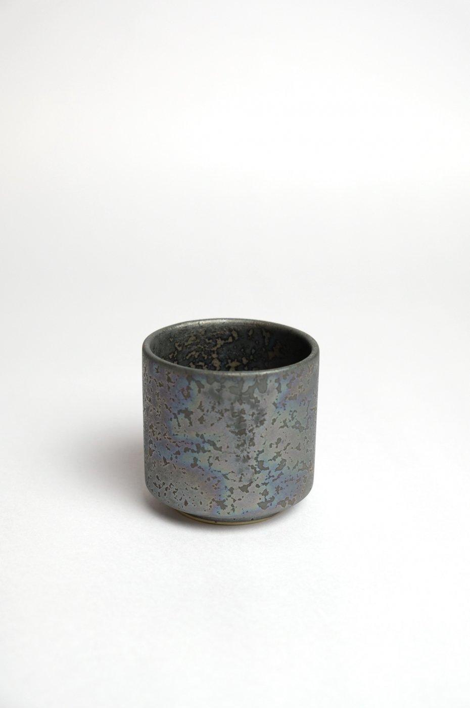 ONE KILN CERAMICS ワンキルン セラミックス-Cylinder Ash Cup M-BLACK-
