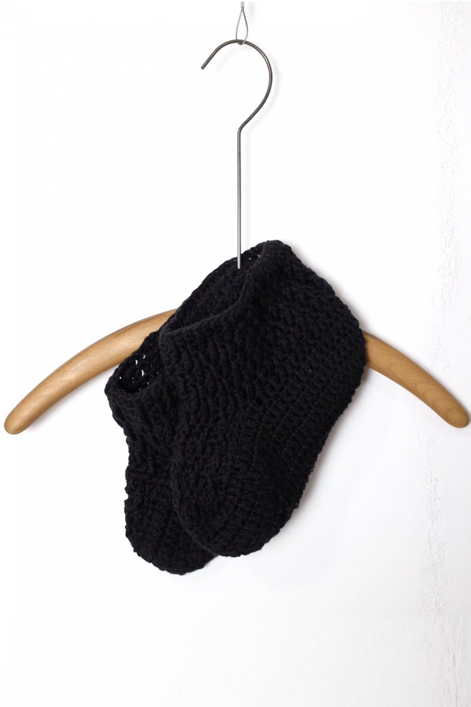MAYDI マイディ-HAND KNITTED BOOTIES/VIVRE-BLACK