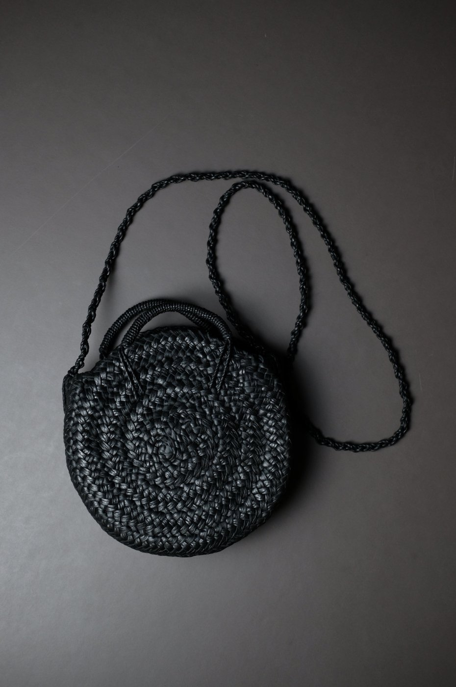 Aeta アエタ-KG CIRCLE BASKET S -BLACK-
