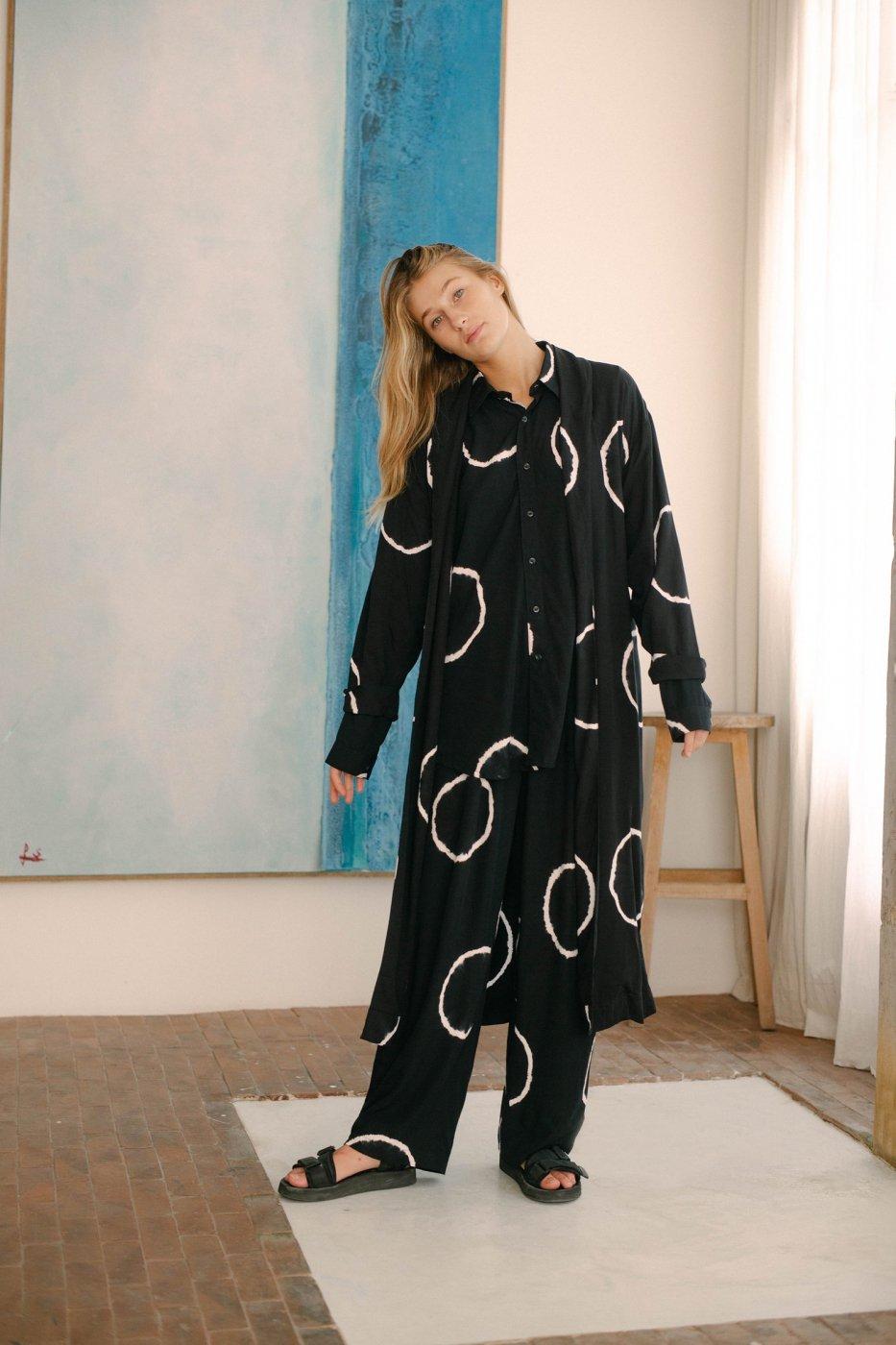 SUKU HOME スクホーム-DRESSING GOWN-MOON