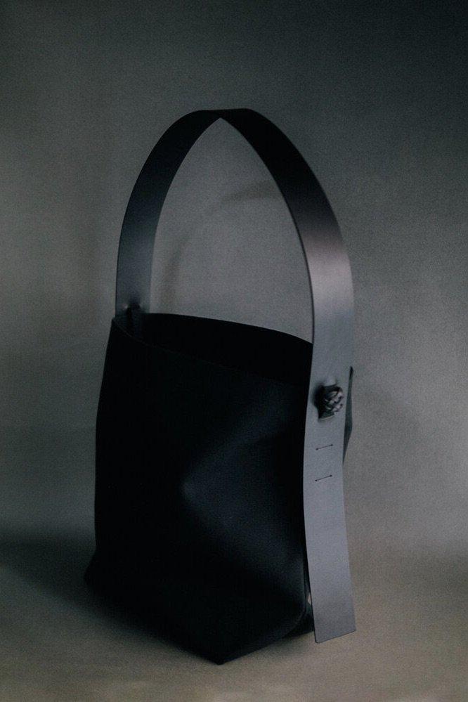 KAMAROA'N カマロアン-TAFOLOD SHOULDER BAG-ALL BLACK
